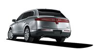 2012 Lincoln MKT, Back quarter view., exterior, manufacturer