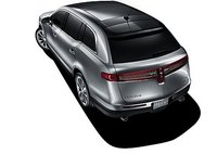 2012 Lincoln MKT, Back View. , manufacturer, exterior