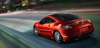 2012 Mitsubishi Eclipse, Back quarter view. , exterior, manufacturer