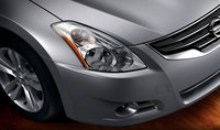 2012 Nissan Altima, Close-up of headlight. , manufacturer, exterior