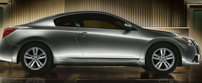2012 Nissan Altima Coupe, Side View. , manufacturer, exterior