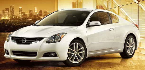 2012 Nissan Altima Coupe, Front quarter view. , exterior, manufacturer