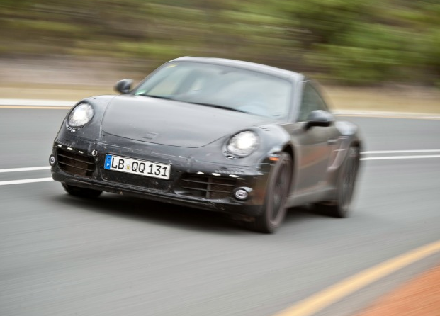 2012 Porsche 911, Front quarter view. , exterior, manufacturer
