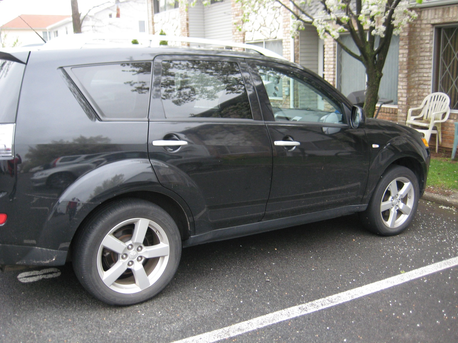 picture of 2007 mitsubishi outlander xls exterior. Black Bedroom Furniture Sets. Home Design Ideas