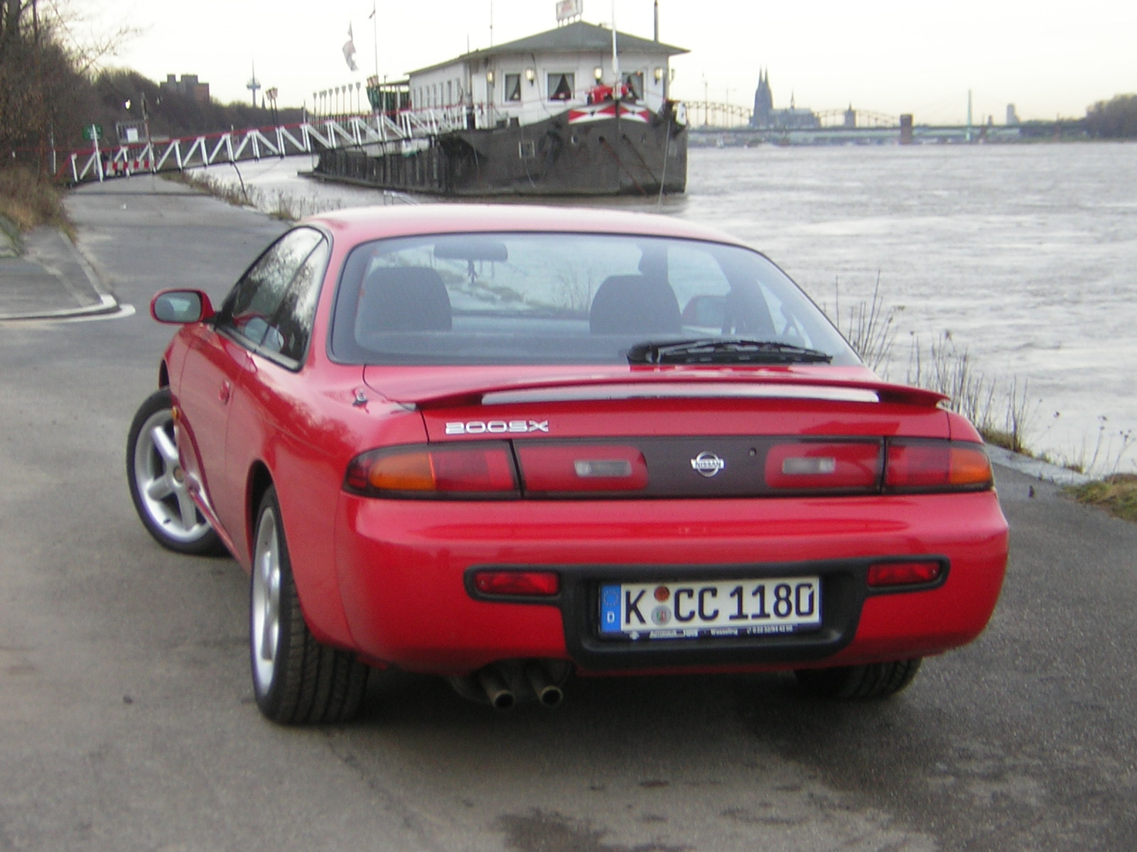 The 1996 Nissan 200SX only saw a few small changes for the model year ...