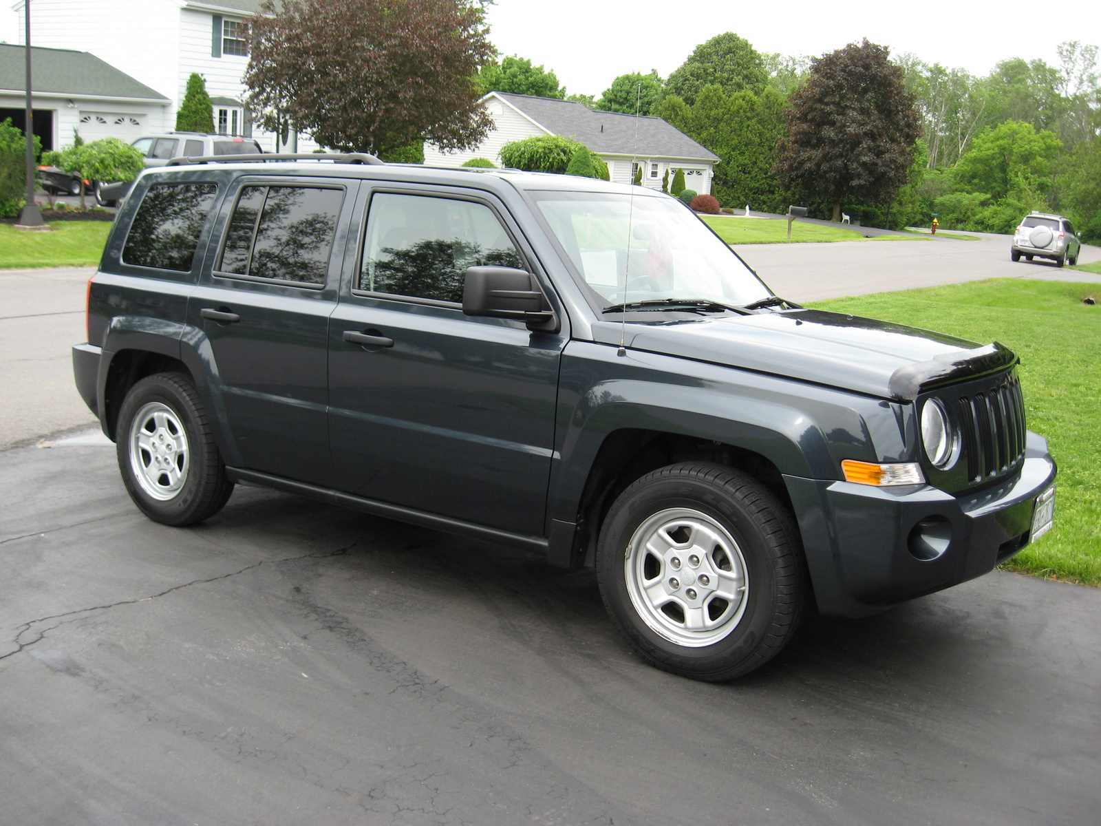 Jeep Patriot Sport Car Interior Design