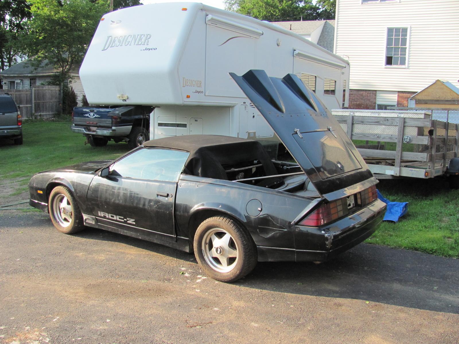Chevrolet Camaro Questions I Have A 1985 Z28 V8 4 Barrel