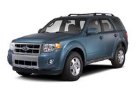 2012 Ford Escape Hybrid, Front Left Quarter View, exterior, manufacturer, gallery_worthy