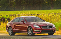 2012 Mercedes-Benz CLS-Class, Front Right Quarter View, manufacturer, exterior