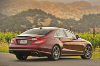 2012 Mercedes-Benz CLS-Class, Back Right Quarter View, manufacturer, exterior