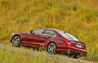 2012 Mercedes-Benz CLS-Class, Left Side VIew, exterior, manufacturer