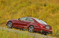 2012 Mercedes-Benz CLS-Class, Left Side VIew, manufacturer, exterior