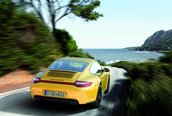 2012 Porsche 911, Back View, exterior, manufacturer