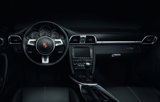 2012 Porsche 911, Interior View, manufacturer, interior
