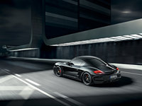 2012 Porsche Cayman, Back Left Quarter View, exterior, manufacturer
