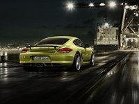 2012 Porsche Cayman, Back View, exterior, manufacturer