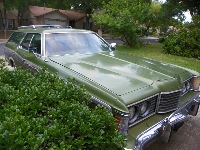1974 Ford Country Squire, the squire that i am currently restoring in my free time these things are still around, exterior, gallery_worthy