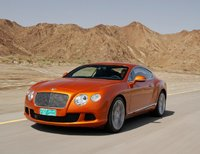 2011 Bentley Continental GT, Front quarter view. , manufacturer, exterior