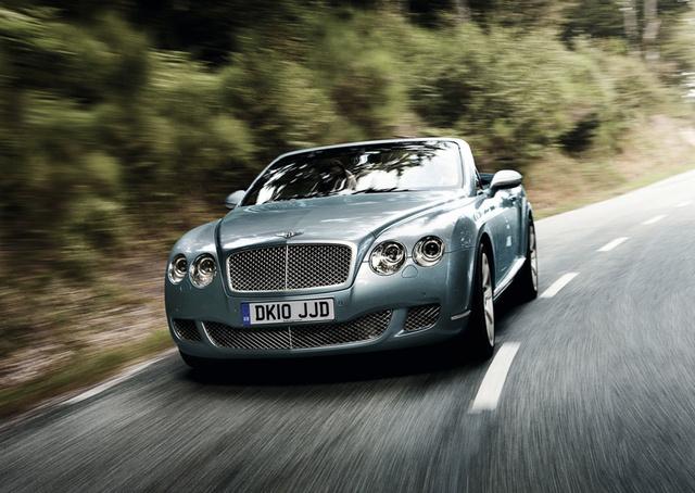 2011 Bentley Continental GTC, Front quarter view. , exterior, manufacturer