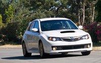 2009 Subaru Impreza WRX STi, Front Right Quarter View, exterior, manufacturer