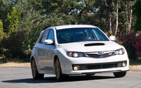 2009 Subaru Impreza WRX STi, Front Right Quarter View, manufacturer, exterior
