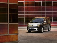 2009 Renault Kangoo, Front Left Quarter View, exterior, manufacturer