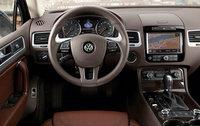 2011 Volkswagen Touareg, Interior, driver's view, interior, manufacturer