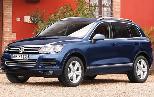 2011 Volkswagen Touareg, Front quarter view, exterior, manufacturer