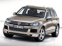 2011 Volkswagen Touareg, Hybrid, front quarter view, exterior, manufacturer