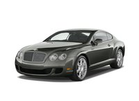 2009 Bentley Continental GT, Front Left Quarter View, exterior, manufacturer