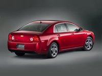 2012 Chevrolet Malibu, Back Right Quarter View, exterior, manufacturer