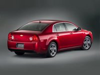 2012 Chevrolet Malibu, Back Right Quarter View, manufacturer, exterior