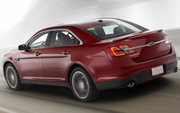2012 Ford Taurus, Back Left Quarter View, manufacturer, exterior