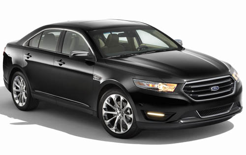 2012 Ford Taurus, Front Right Quarter View, exterior, manufacturer