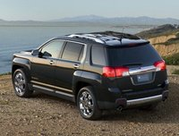 2012 GMC Terrain, Back Left Quarter View, exterior, manufacturer