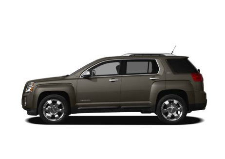 2012 GMC Terrain, Side View, manufacturer, exterior