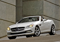 2012 Mercedes-Benz SLK-Class, Front Left Quarter View, exterior, manufacturer
