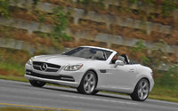 2012 Mercedes-Benz SLK-Class, Left Side View, manufacturer, exterior