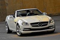 2012 Mercedes-Benz SLK-Class, Front View, exterior, manufacturer