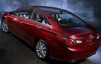 2012 Hyundai Sonata, Back Quarter View (Hyundai Motors America), exterior, manufacturer
