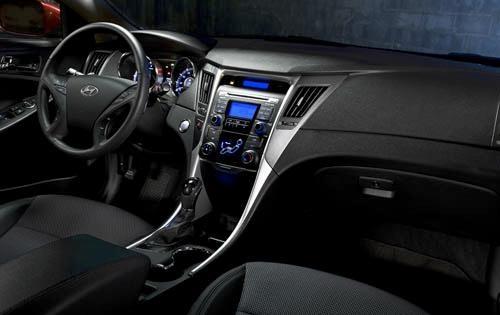 2012 Hyundai Sonata, Interior View, interior, manufacturer
