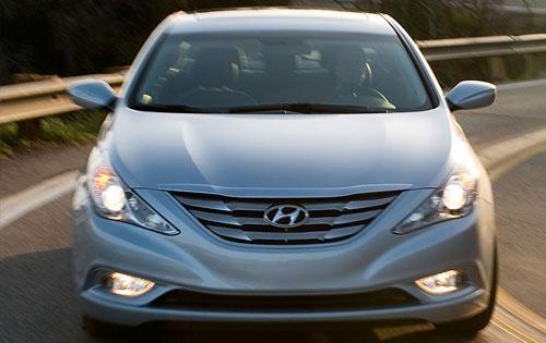 2012 Hyundai Sonata, Front View (Hyundai Motors America), exterior, manufacturer