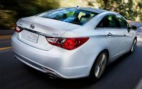 2012 Hyundai Sonata, Back Right Quarter View, exterior, manufacturer