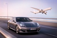 2012 Porsche Panamera, Front Right Quarter View, exterior, manufacturer