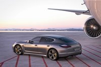 2012 Porsche Panamera, Left Side View, exterior, manufacturer