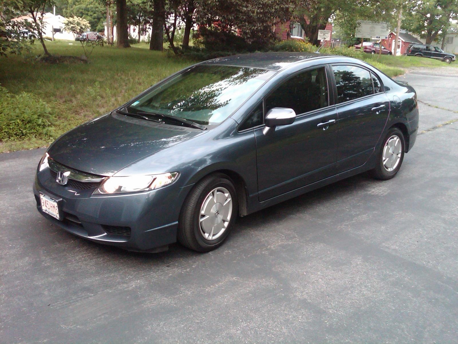 Honda Civic Hybrid Pic