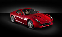 2011 Ferrari 599 GTB Fiorano, Front Right Quarter View, manufacturer, exterior