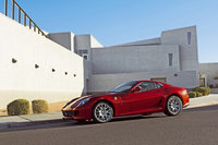 2011 Ferrari 599 GTB Fiorano, Left Side View, manufacturer, exterior