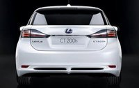 2011 Lexus CT 200h, Back View, exterior, manufacturer