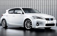 2011 Lexus CT 200h, Front Right Quarter View, exterior, manufacturer